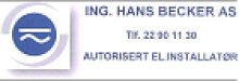 Ing. Hans Becker AS